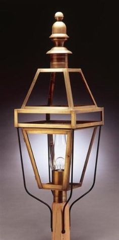 Post Antique Copper Medium Base Socket With Chimney Clear Glass by Northeast Lantern. $1157.00. Northeast Lantern 1253 This lighting fixture is hand made in New Hampshire from 100% brass or copper materials. Includes a lifetime guarantee, except for glass. UL Listed. The all natural finish that will not peel or flake off. Features: -Post lantern. -Boston collection. -Available in multiple finishes. -Available with Clear, Clear Seedy, Frosted and Seedy Marine gla...