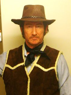 "Tim Beasley as ""Clint Eastwood."""