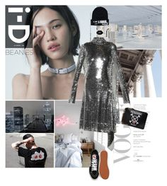 """블락비"" by gizibe ❤ liked on Polyvore featuring Vetements, Vans, Moschino and Lime Crime"