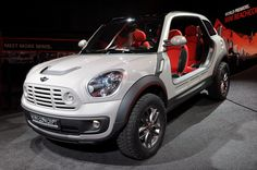 #MINI Beachcomber Concept: el primer 4×4 de MINI