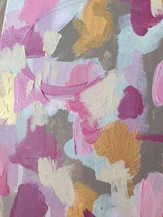 Julia Pellizzari   Gold strokes I love the most...love this color palette.
