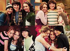 Miley, Lilly, and Oliver really were some of my favorite groups of friends ever <3 |Hannah Montana||Disney Channel||TV Shows|