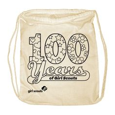 100 Years of Girl Scouts Backpack