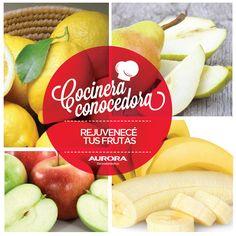 #CocineraConocedora   • Para evitar que tus frutas se oscurezcan después de cortarlas, sumergilas en agua fría con jugo de limón por 20 minutos.  • Cuando los limones se sequen, sumergilos en agua hirviendo por unos minutos y volverá a ser rico y jugoso.