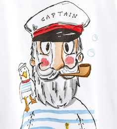 Image 5 of Printed T-shirt from Zara Outline Drawings, Cartoon Drawings, Art Drawings, Art And Illustration, Illustrations Posters, Photographie Portrait Inspiration, Cool Sketches, Tattoo Sketches, Boat Painting