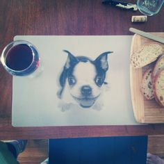 Three words: lenticular puppy placemats