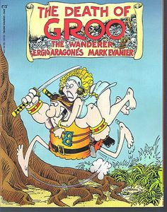Graphic Novel The Death Of Groo -The Wanderer