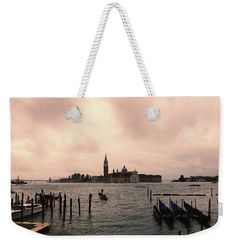 """Other Venice 2 Weekender Tote Bag (24"""" x 16"""") by Marina Usmanskaya.  The tote bag is machine washable and includes cotton rope handle for easy carrying on your shoulder.  All totes are available for worldwide shipping and include a money-back guarantee                         #MarinaUsmanskayaFineArtPhotography , Art For Home,Art Prints, venice,Italy,Home Design"""