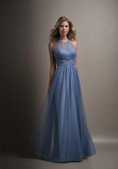 Belsoie L194011 Illusion Bridesmaid Dress
