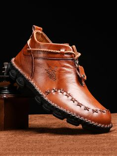 Stitching Leather, Hand Stitching, Men's Shoes, Dress Shoes, Shoes Men, Site Mode, Mens Boots Online, Make Money Now, Male Hands
