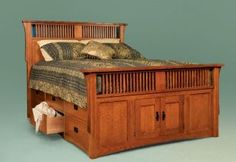 King Size Bed with Storage Drawers | 158936590_-size-storage-bed-under-bed-drawers-platform-storage-.jpg