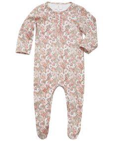 I DIE - Pink Poplar Print Sleepsuit