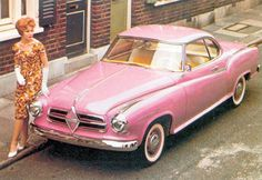 Borgward Isabella coupé #automotive
