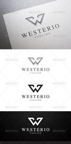 W Letter Logo Design  Letter Logo Logos And Logo Templates