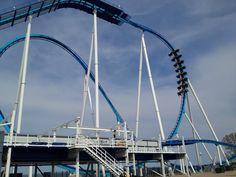 GateKeeper roller coaster at Cedar Point in Sandusky, OH.