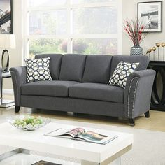 Product name: BOWDLE CM6095GY-SF Sofa. Call Anna to find out more: 917-776-5743 Or simply visit us in Brooklyn: 140 58th Street BK, 11220 New York