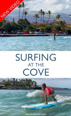 We thoroughly answered the questions from a new surfer looking to learn on Maui.  We share #mauisurfschools and the best #mauisurfing spots!  We've also added a new video of #Mauisurflessons at The Cove in #Kihei #Maui. Fun Stuff, Stuff To Do, Trip To Maui, Hawaii Surf, Learn To Surf, Snorkeling, Surfboard, Places To See, Surfing