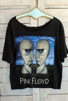 69d03393 Pink Floyd 1994 Tee: Pink Floyd 1994 cropped tee. North American 1994 tour.
