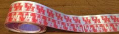"University of Houston Satin Ribbon 1.75"" Minimum 3 yards per order. Not wired ribbon."