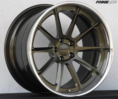 The Forgeline RB3C Concave finished with Satin Bronze center and Polished outer. Learn more about the RB3C Concave (including sizes and pricing) at: http://www.forgeline.com/products/concave-series/rb3c-sl-stepped-lip.html