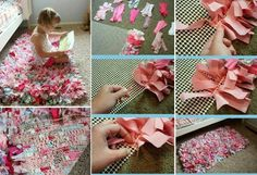 MAKING THIS!! I'm thinking pink cheetah print and grey to go with my pink and grey theme in Alison's room :)