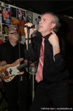 Gary Reichel (vocal) and Chris Girard (bass) of Cinecyde at the Detroit All-Star Garage Rock Punk Revue. PJ's Lager House, Detroit, Michigan. August 6, 2016. #cinecyde #detroitpunk #garyreichelguitars #punkrock #detroitallstargaragerockpunkrevue