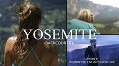 Yosemite Falls to Snow Creek to Mirror Lake Loop