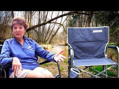 Jennifer has a new favorite camping chair. It's a comfy rocker that folds up. Back at camp at the end of a long day of exploring, she thinks it's the best camping chair we have ever used. It's the GCI Freestyle Rocker and it rocks because of special springs, which look a lot like shock absorbers. It weighs about 12 - The RV lifestyle