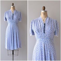 NEW! 1930s Letters Home dress  small by deargolden