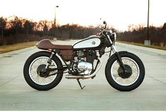 This elegant Yamaha XS400 is the latest custom from Analog Motorcycles' Tony Prust, built for a customer's wife.
