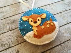 Personalised ornament Felt Personalized Christmas ornament