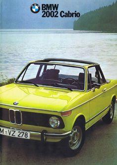 1974 BMW 2002 Cabrio