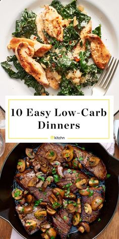 Need ideas for simple dinners and meals that don't… Easy Low Carb Dinner Recipes. Need ideas for simple dinners and meals that don't have a ton of carbohydrates? Healthy Comfort Food, Healthy Snacks, Healthy Eating, Quick Snacks, Healthy Diabetic Recipes, Simple Low Carb Meals, Yummy Healthy Food, Easy Low Carb Recipes, Carb Free Meals
