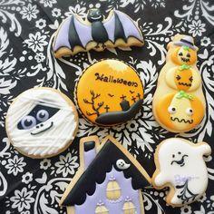 10月のアイシングクッキーレッスン★ 大阪 京橋 蒲生四丁目 JSAアイシングクッキー認定教室、ホシノ天然酵母パン教室 少人数制で一人一人のレベルに合わせてレッスンします。