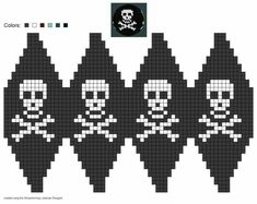 Knitting Patterns Christmas created using Schachenmayr Designer Knitting Charts, Knitting Patterns, Crochet Patterns, Crochet Skull, Bead Crochet, Bead Loom Patterns, Cross Stitch Patterns, Beading Patterns, Fair Isle Chart