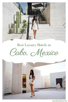 Deciding where to stay in Cabo San Lucas, Mexico? This Los Cabos travel guide compares the best hotels in Cabo for LUXURY! Read my review of Nobu Hotel Los Cabos, Solaz Los Cabos, and The Cape, a Thompson Hotel. I also cover the best restaurants in Cabo / where to eat in Cabo, where to see El Arco and the best beach clubs in Cabo. The best of Mexico resorts for your perfect Cabo Itinerary. Perfect for a honeymoon, bachelorette party, romantic getaway/couples trip or friends #cabo #mexico…