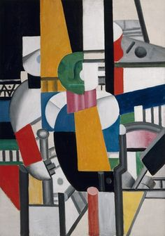 Variety - Man with a Cane - 1920 - Fernand Léger, French