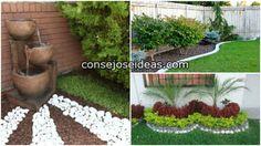Cuando tenemos un jardín pequeño pensamos que ya no podemos hacer nada hermoso, sin embargo, es cuestión de creatividad para darle un buen ...