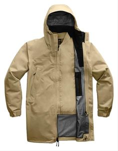 Triclimate Jacket, Gore Tex Jacket, Tactical Jacket, Travel Wardrobe, Puffer Jackets, Size 16, The North Face, Raincoat, Beige