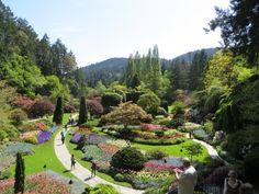 Butchart Gardens BC