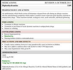 Vocational Nursing Resources: Penicillin drug card sample ...