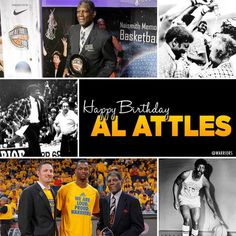 Happy Birthday to a true #Warriors Legend - the one & only Alvin Attles! Over 50 years with the organization.