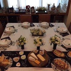 En güzel mutfak paylaşımları için kanalımıza abone olunuz. http://www.kadinika.com Mesa todinha para vcs!!! Com sousplat guardanapo Toalha e Trilho de escrever #chalkboard da @poenamesadecor !!! Consulte-nos!!!