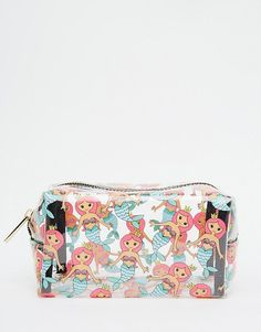 Skinnydip+ASOS+Exclusive+Mermaid+Print+Make+Up+Bag