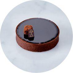 Tarte tout chocolat - Angelina