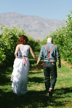 Laren and Sam's Homegrown Wedding at Gilcrease Orchard from Dennis Dayrit Photography // Little Vegas Wedding