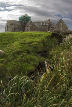 Iona Abbey, Isle of Iona, Scotland, is the oldest and one of the most important religious centres in Western Europe