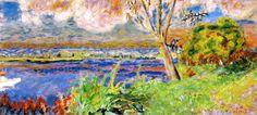 The Seine at Vernon Pierre Bonnard - circa 1923