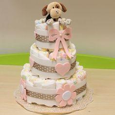 Ciao a tutte e buon inizio settimana. Il post di oggi è per celebrare la nascita di una nuova vita. Ed ecco allora la torta di pannolini pr...