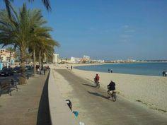 Platja de Can Pastilla en Can Pastilla, Islas Baleares